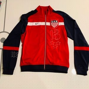 Nike USA soccer warm-up jacket Men's